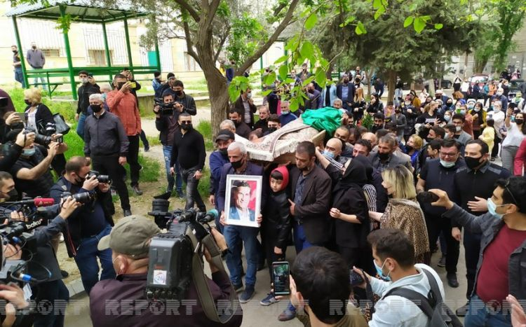 Arif Quliyev dəfn olunub -  FOTO