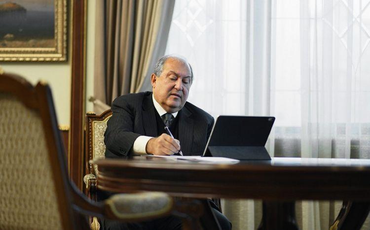 Ermənistan prezidenti Rusiyaya gedir -  SƏBƏB
