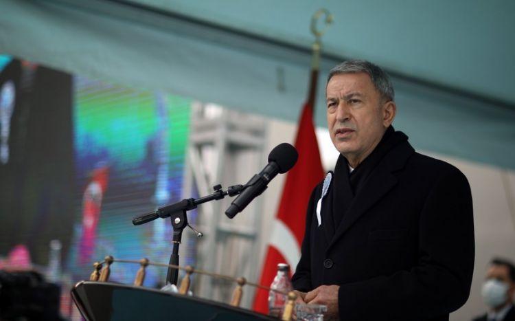 """Hulusi Akar:  """"Azərbaycan Türkiyənin qardaşıdır"""""""