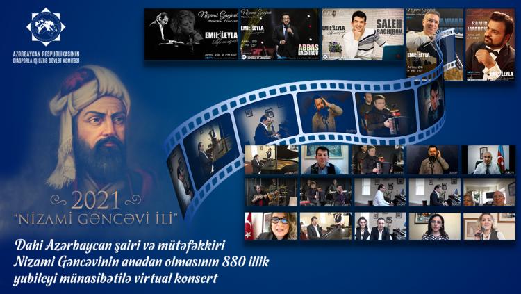 ABŞ-da Nizami Gəncəviyə həsr edilmiş konsert keçirilib
