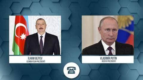 İlham Əliyevlə Vladimir Putin arasında telefon danışığı olub