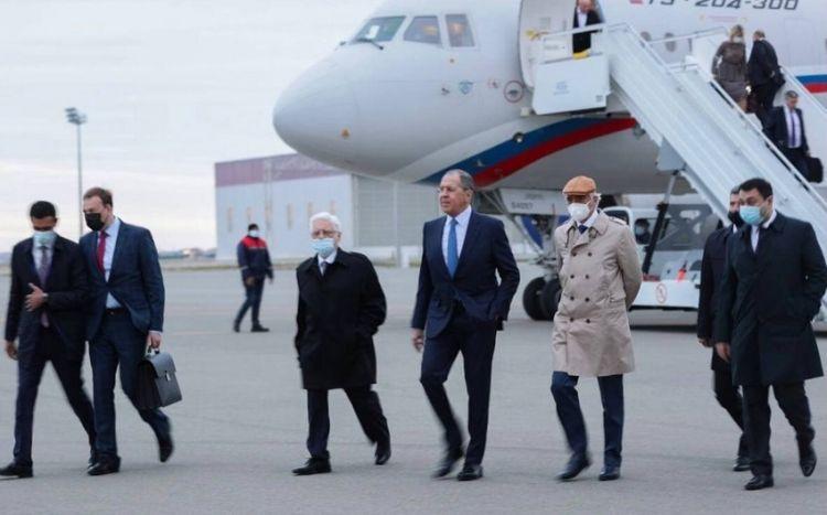 Sergey Lavrov Bakıya gəldi