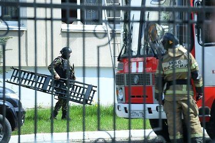 Rusiyada məktəbə hücum edənlərdən biri öldürülüb -  FOTO