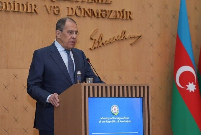 Mina xəritələrinin Azərbaycana verilməməsi... - Lavrov