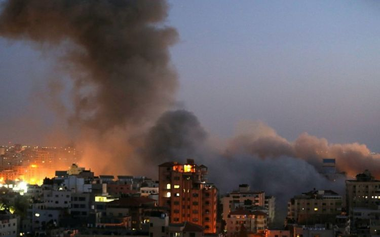 HƏMAS Təl-Əviv istiqamətində  130 raket atdığını elan etdi