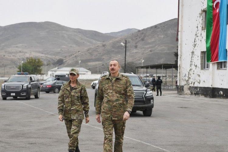İlham Əliyev və Mehriban Əliyeva Şuşaya gedir -  VİDEO
