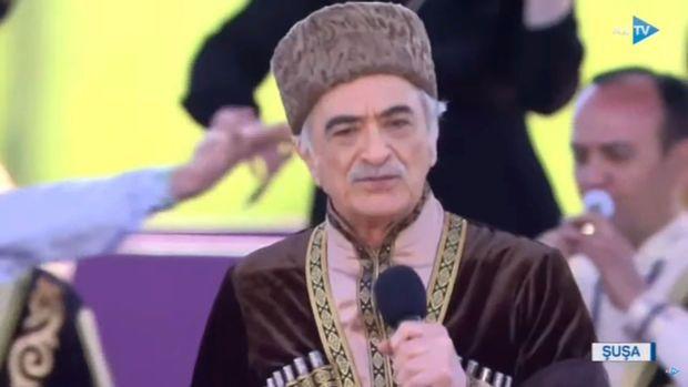 Polad Bülbüloğlu Şuşada mahnı oxudu – VİDEO