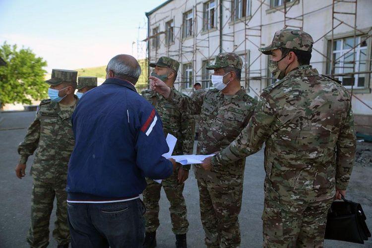 Azad olunan ərazilərdə indiyədək 20 hərbi hissə istifadəyə verilib -  FOTOLAR