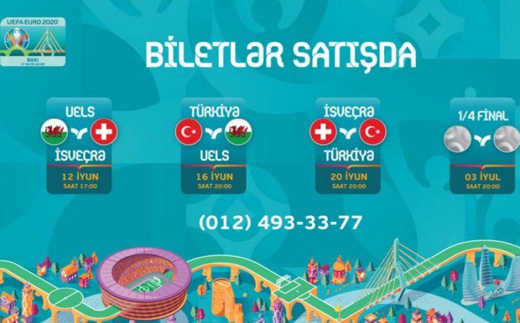 """Bakıdakı """"AVRO-2020"""" oyunları üçün biletlər satışa çıxarılır -  QİYMƏTLƏR"""