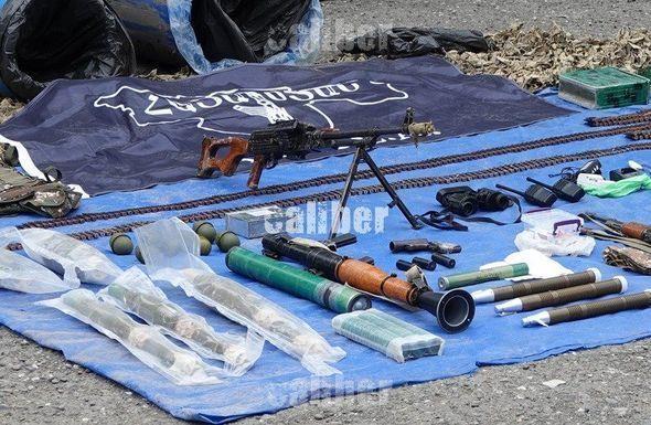 Suqovuşan yaxınlığında ASALA terrorçularının anbarı aşkarlandı - FOTO