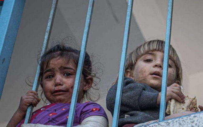 UNİCEF: Qəzzada son beş gündə azı 40 uşaq ölüb -  VİDEO