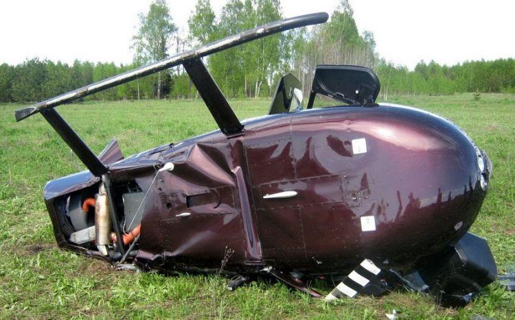 Rusiyada helikopter qəzaya uğradı, ölən və xəsarət alanlar var