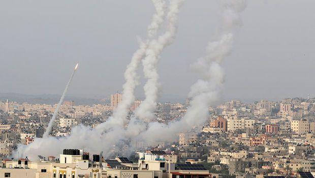 İsrail aviasiyası HƏMAS-ın üç komandirinin evinə zərbələr endirdi