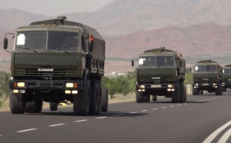 Naxçıvanda Azərbaycan Ordusunun təlimləri davam edir -  VİDEO