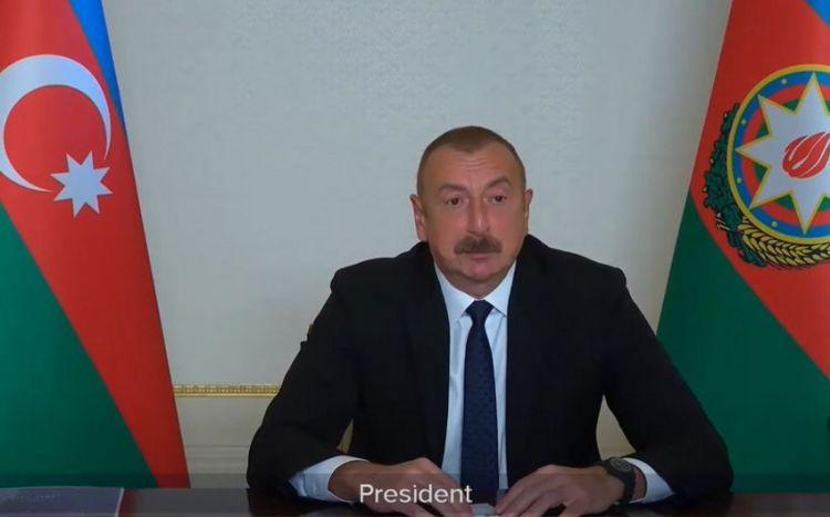 """Azərbaycan Prezidenti:  """"Zəngəzur dəhlizi bölgədəki bütün ölkələr üçün yeni imkanlar açacaq"""""""