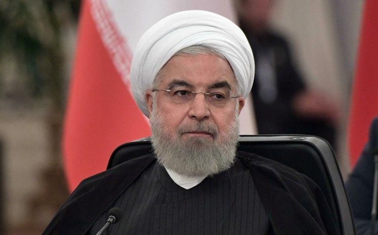 """Həsən Ruhani:  """"İrana qarşı sanksiyalar ləğv ediləcək"""""""