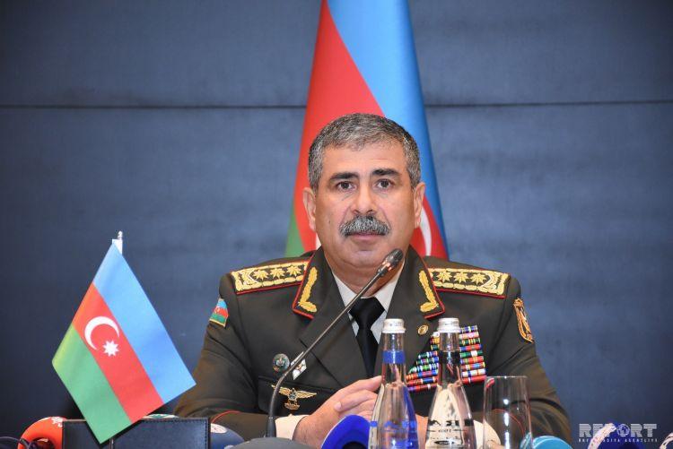 Zakir Həsənov Belarusun müdafiə nazirinə başsağlığı verib