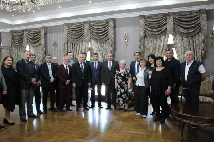 Diasporla İş üzrə Dövlət Komitəsinin nümayəndə heyəti Gürcüstanda -  FOTO