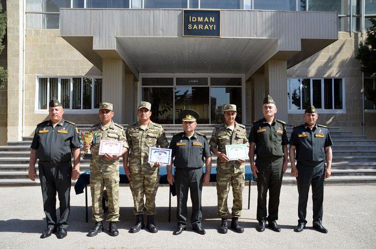 Azərbaycan Ordusunda hərbi beşnövçülük yarışları keçirilib - VİDEO