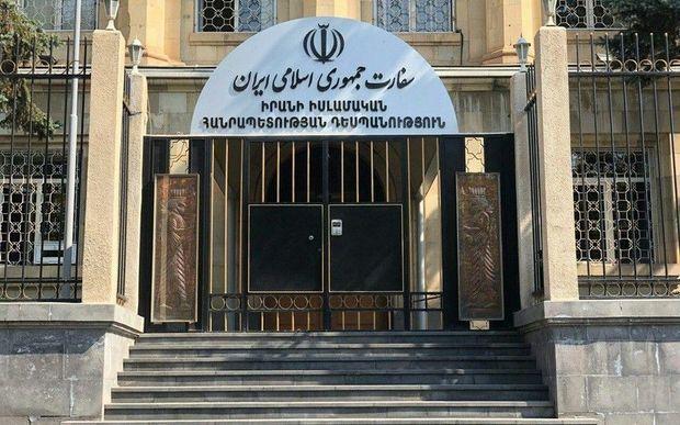 İran ərazisində 160 erməni əsgərin olması barədə şayiələrə cavab verib