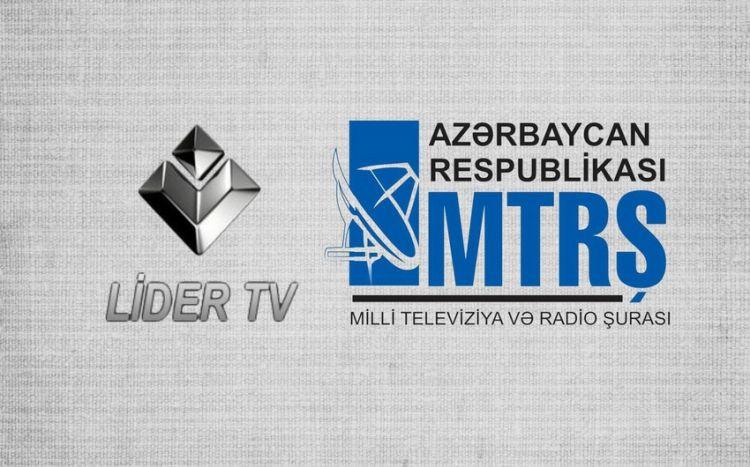 """""""Lider TV"""" telekanalı bağlandı -  RƏSMİ"""