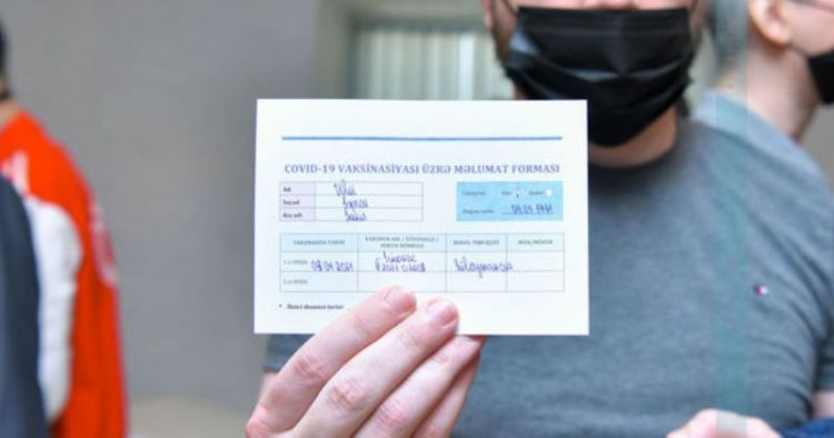 COVID-19 pasportunun əldə edilməsi ilə bağlı  qaydalar AÇIQLANDI