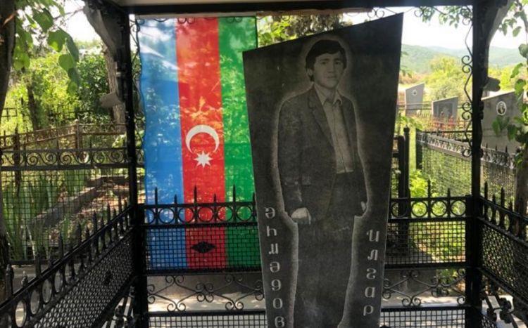 Gürcüstanda 20 Yanvar şəhidinin məzarı bərpa olunub