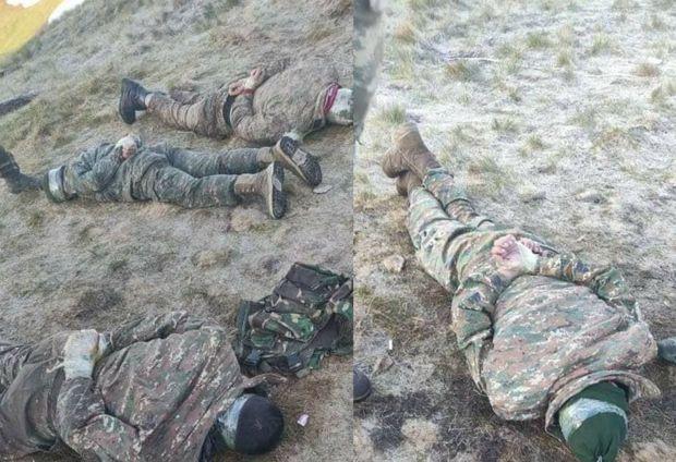 Ermənistan Azərbaycan Ordusu tərəfindən ələ keçirilən erməni terrorçuların adlarını  AÇIQLADI