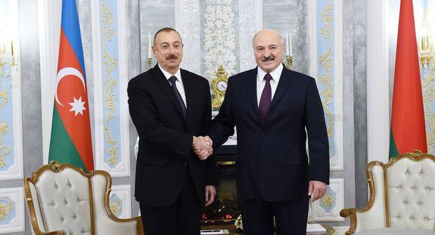 Aleksandr Lukaşenko Azərbaycan Prezidentinə təbrik məktubu ünvanlayıb