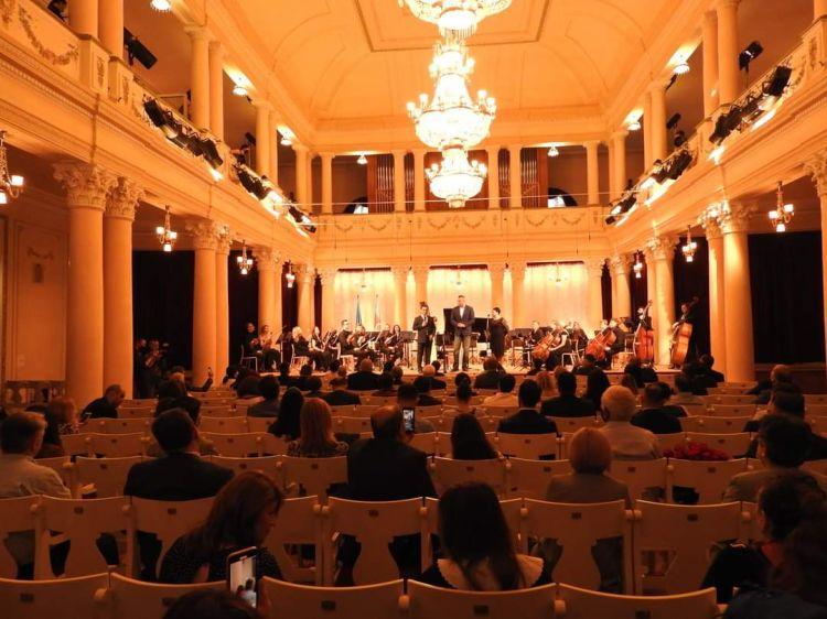 Kiyev şəhərində Respublika Gününə həsr olunmuş konsert təşkil edilib