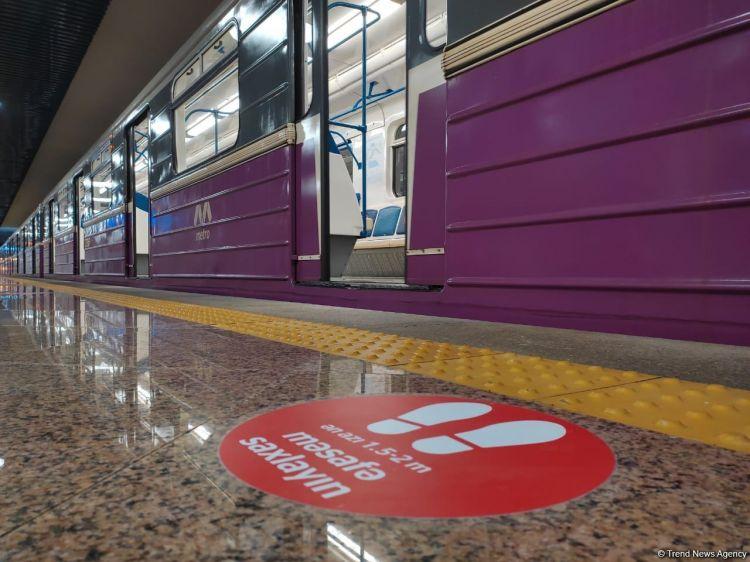 """""""8 Noyabr"""" stansiyasında ilk dəfə olacaq yenilik tətbiq edilib"""