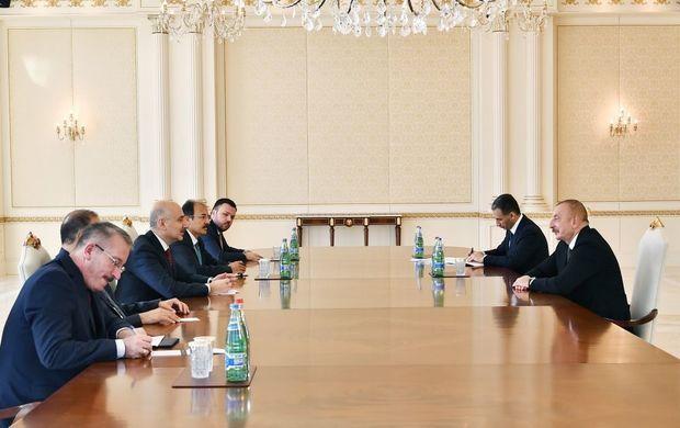 Prezident Türkiyənin nəqliyyat və infrastruktur nazirini qəbul edib -  FOTO