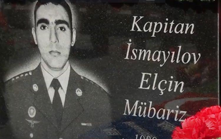 Ucarda şəhid kapitan Elçin İsmayılovun doğum günü qeyd olunub -  VİDEO