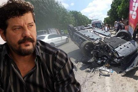 Türkiyənin məşhur aktyoru qəzaya düşdü