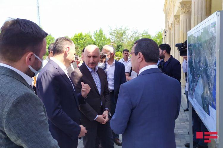 Türkiyəli nazir işğaldan azad edilmiş Füzuli rayonuna səfər edib - VİDEO - YENİLƏNİB