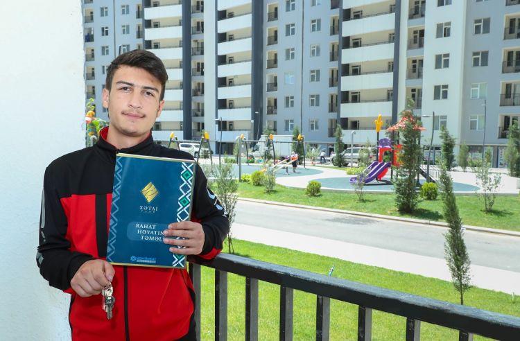 Şəhid Nurlan Qurbanlının ailəsinə mənzil verildi -  FOTO