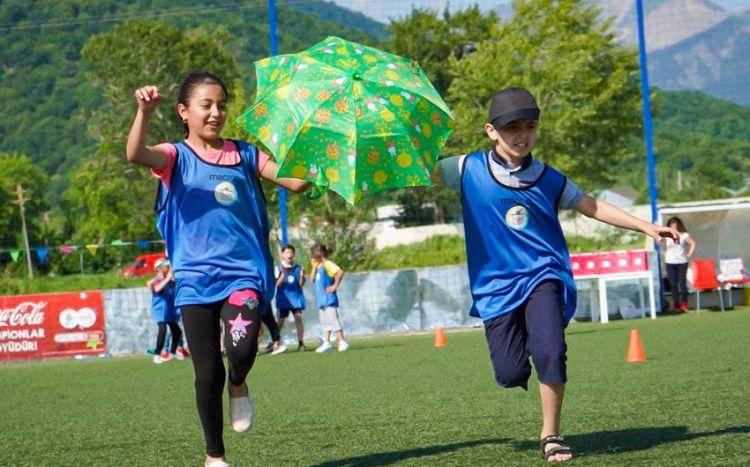 Nar-dan şəhid və qazi ailələrinin uşaqları arasında keçirilən yarışa dəstək