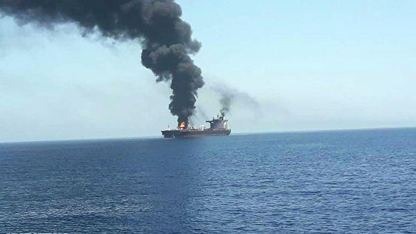 İranda hərbi gəmi batıb