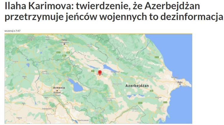 Azərbaycanlı alim Polşa radiosunda ermənilərin iddialarını faktlarla alt-üst edib