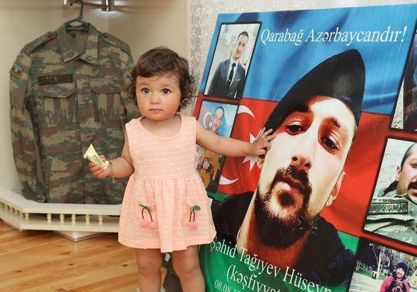 Şəhid Hüseyn Tağıyevin ailəsi ziyarət edilib –  FOTO