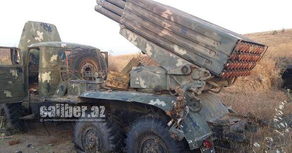 """Ermənistan ordusu Azərbaycana iki ədəd BM-21 """"Qrad"""" """"hədiyyə"""" etdi -  FOTO"""