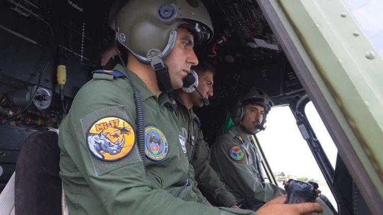Əlahiddə Ümumqoşun Ordunun hərbi aerodrom kompleksi -  VİDEO