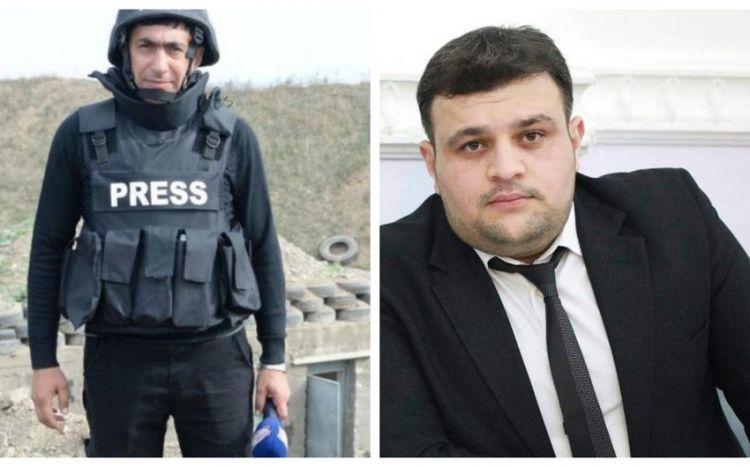 Azərbaycanın iki media işçisi minaya düşərək həlak olub