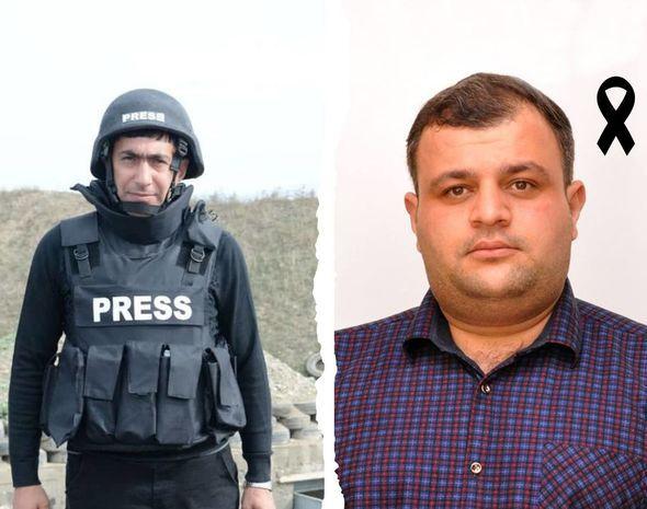 Jurnalistlərin minaya düşdüyü hadisədə həlak olanların sayı üçə çatdı:  Dörd nəfər yaralandı