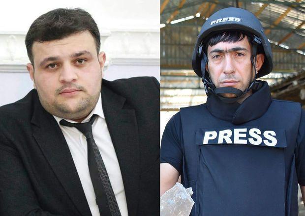 Bu gün şəhid olmuş jurnalistlərin son reportajı -  VİDEO