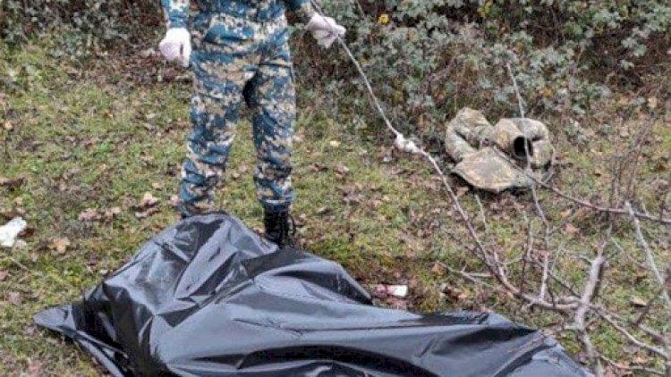 Daha bir erməni hərbçisinin meyiti ərazimizdə tapıldı