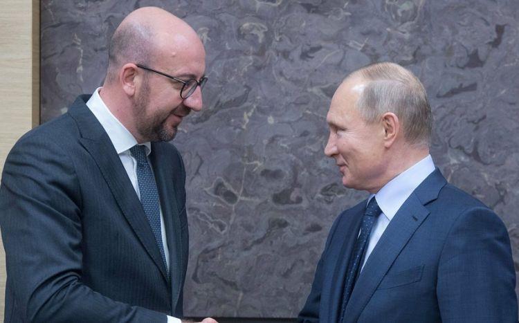 Rusiya prezidenti və Aİ Şurası sədri Qarabağı müzakirə edib