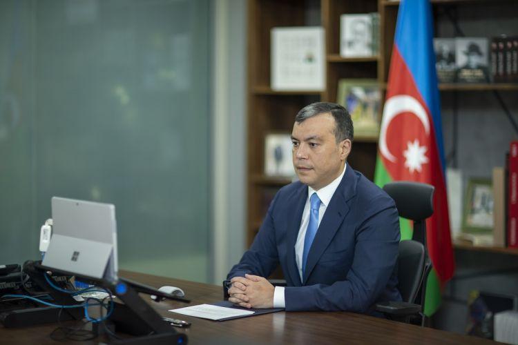 Nazir Sahil Babayev BƏT-in 109-cu sessiyasında çıxış edib