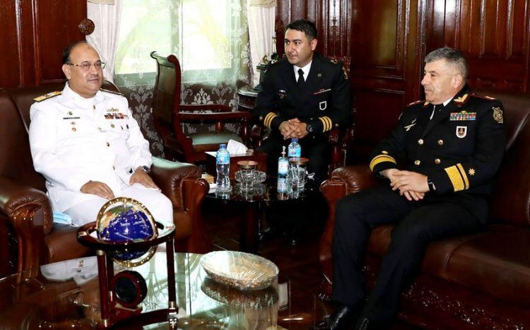 Azərbaycan HDQ komandanı Pakistanın Hərbi Dəniz Akademiyasında olub -  FOTO
