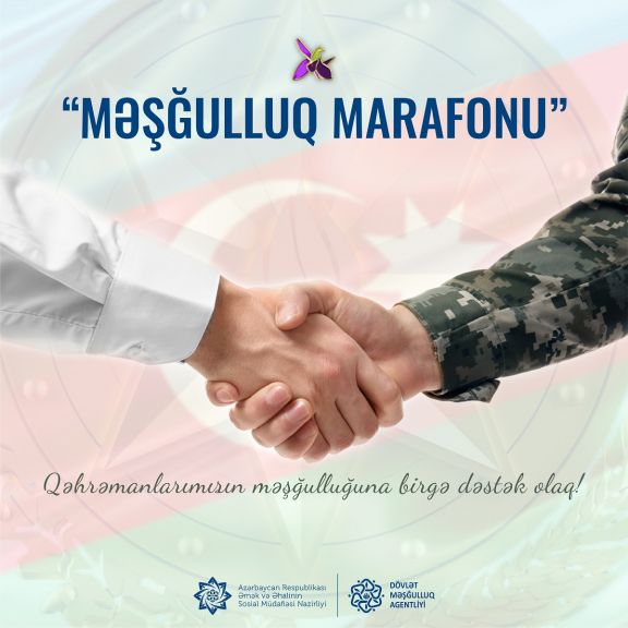 """""""Məşğulluq marafonu""""na start verildi"""